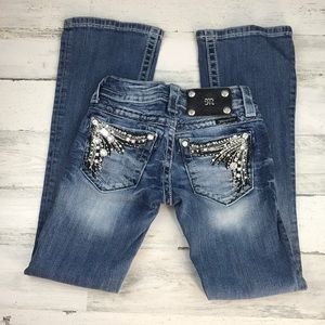 Miss Me boot jeans size 22 girls ( 14 )